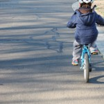 (Sort of) Wordless Wednesday: The Training Wheels Come Off