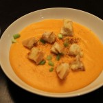 Souper Tuesday: Creamy Carrot and Millet Soup with Grilled Cheese Croutons