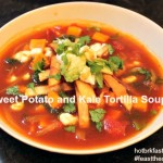 Souper Tuesday: Sweet Potato and Kale Tortilla Soup