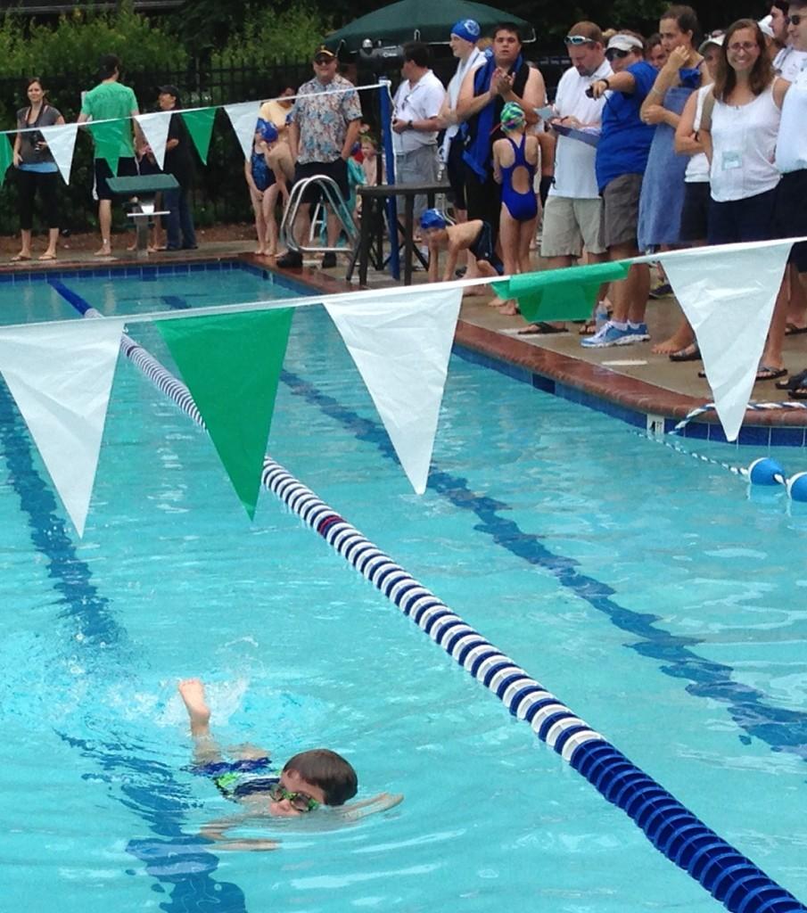 Noah Swim Meet