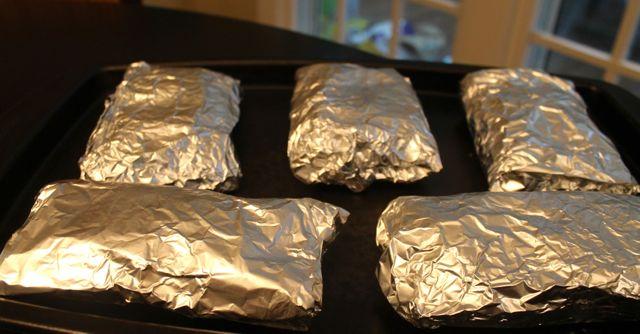 burritos foil