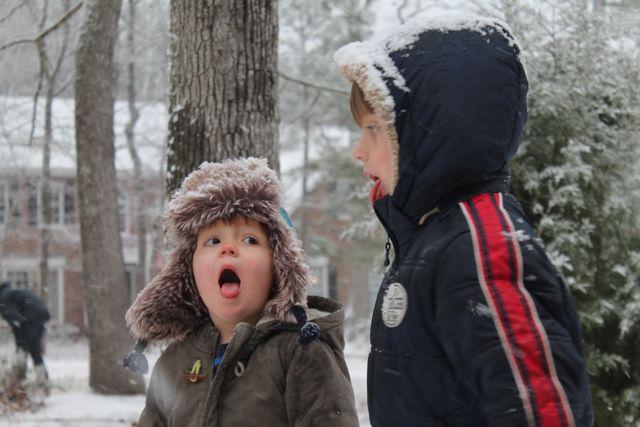 boys snow