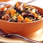 Souper (Not Fat) Tuesday: Mushroom and Wild Rice Slow Cooker Stew